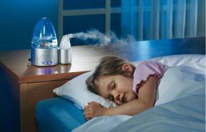 máy phun sương phòng ngủ